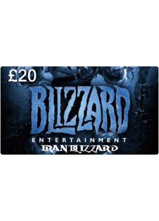 Battle.net Card 19.98GBP UK