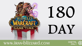 WoW 180 days Time Card EU