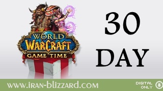WoW 30 days Time Card  EU