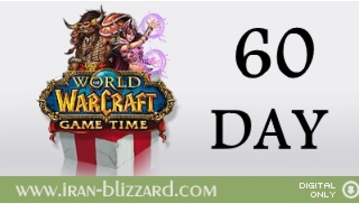 WoW 60 days Time Card  EU