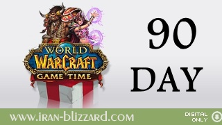 WoW 90 days Time Card  EU