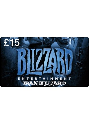Battle.net Card 15GBP UK