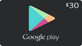 Google Play Gift 30$
