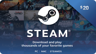 Steam Wallet Card 20$ CDKEY