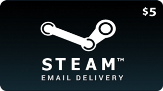 Steam Wallet Card 5$ CDKEY